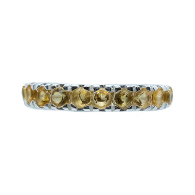 Eternity Citrine Ring
