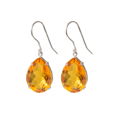 Spectacular citrine earrings