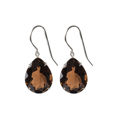 Spectacular Smoky Quartz earrings
