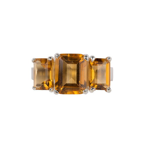 Refined Citrine ring