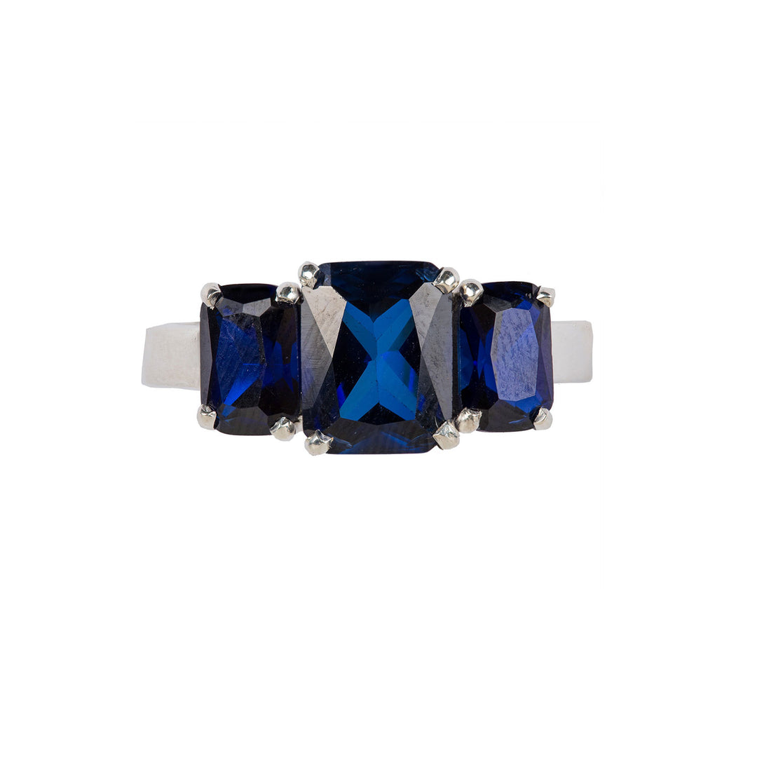 Refined Sapphire ring