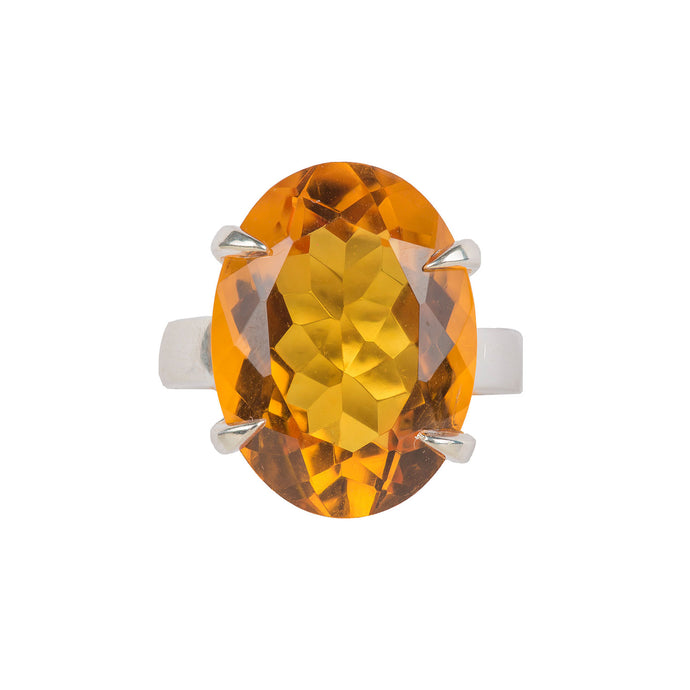 Timeless Citrine Ring