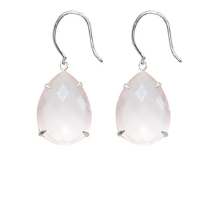 Spectacular Rose Quartz Earrings