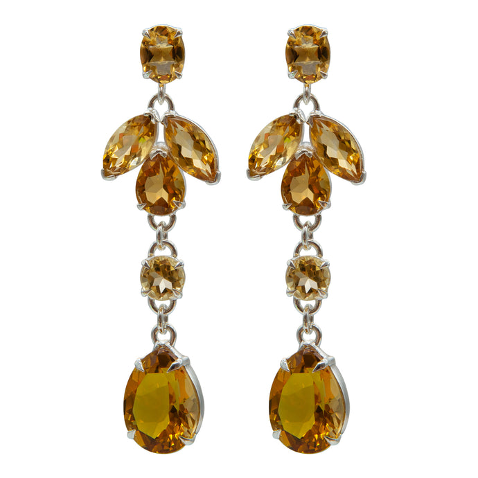 Glamorous Citrine Earrings