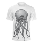 Octolips White Graphic T-Shirt