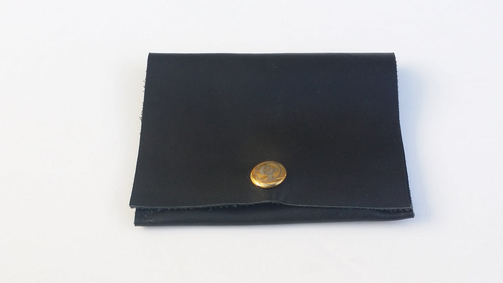 Basic Black Premium Leather Wallet