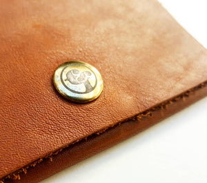 Basic Camel Premium Leather Wallet
