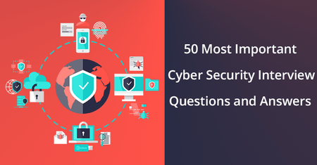 50 Most Important Cybersecurity Interview Questions and Answers