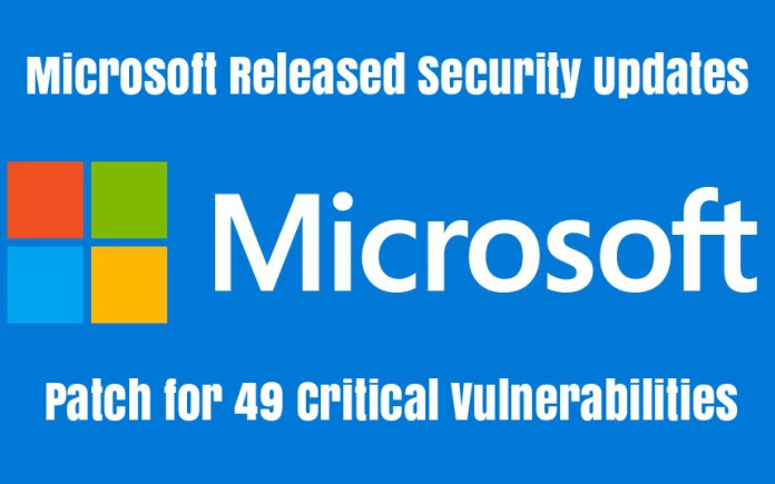 Microsoft released security update under patch
