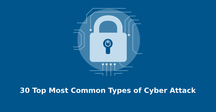 30 Top Most Common Types of Cyber Attack that you Need to Know