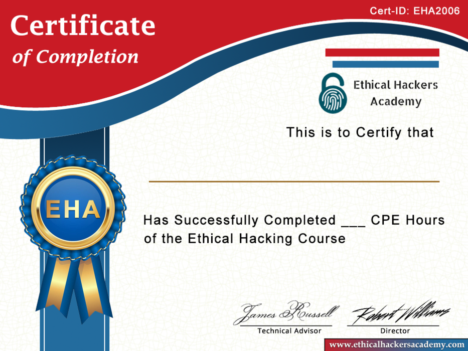 Certified Web Penetration Tester - Became an Expert in Web Application Pentesting - Ethical Hackers Academy