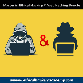 Master in Ethical Hacking and Advanced Web Hacking Bundle