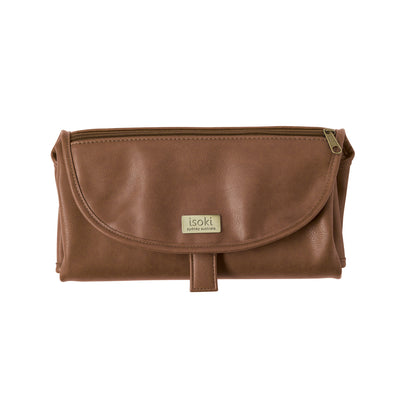 Isoki Tan Change Mat Clutch available at Baby Eden