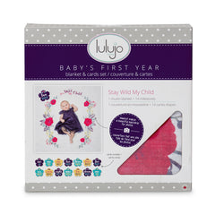 Baby Milestone Blanket Set available at Baby Eden NZ