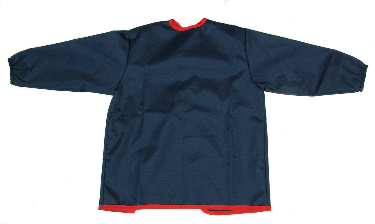 Navy Painting Apron Long Sleeve