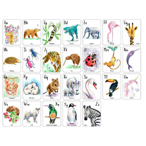 ABC Alphabet Flash Cards available at Baby Eden