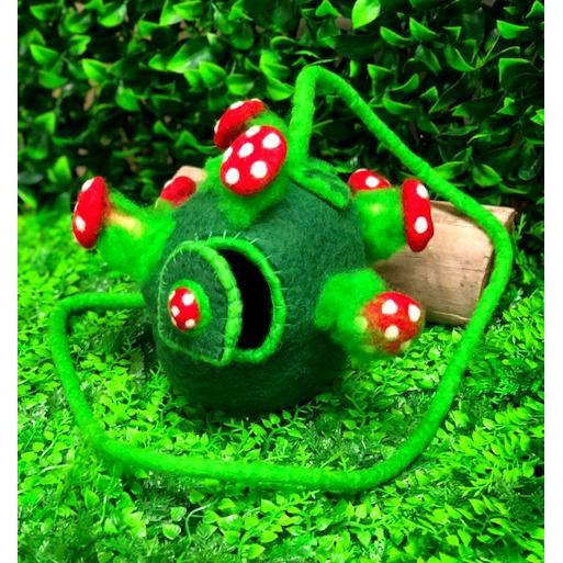 Toadstool Planet  Fairy Pod - Small