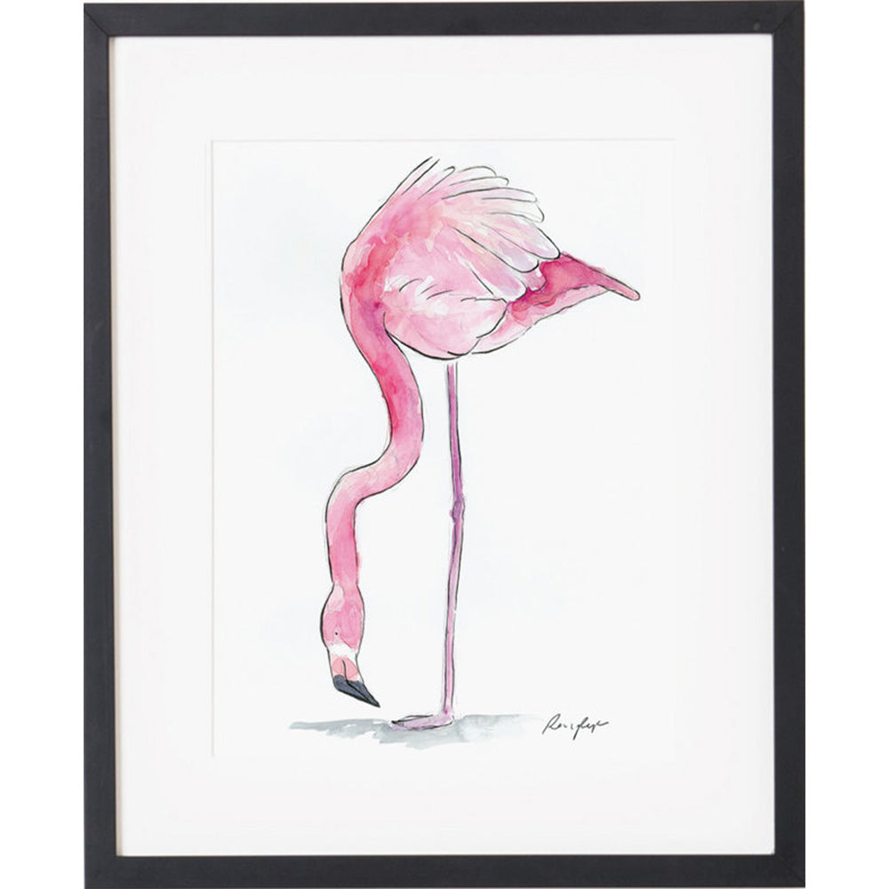 Raewyn Pope Debbie the Flamingo available at Baby Eden