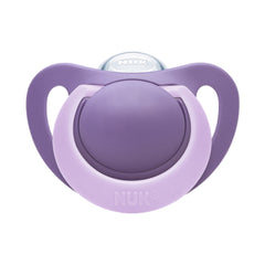 Nuk Lilac Genius Silicone Soother at Baby Eden