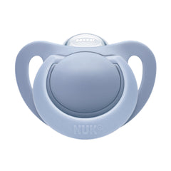 Nuk Blue Genius Silicone Soother at Baby Eden