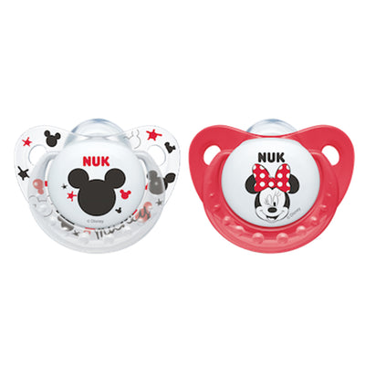 Disney's Minnie Mouse Soothers available at Baby Eden