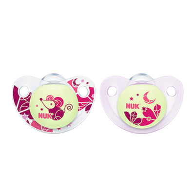 Nuk Glow in the dark Soothers at Baby Eden