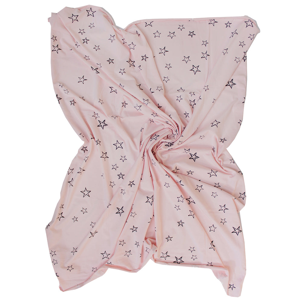Organic cotton stretchy swaddle - Star Print