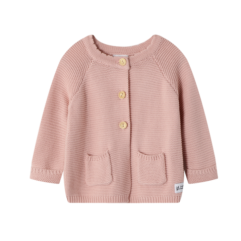 Knitted Cardigan Dusty Pink