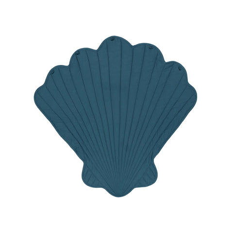Teal Clam Shell Play Mat