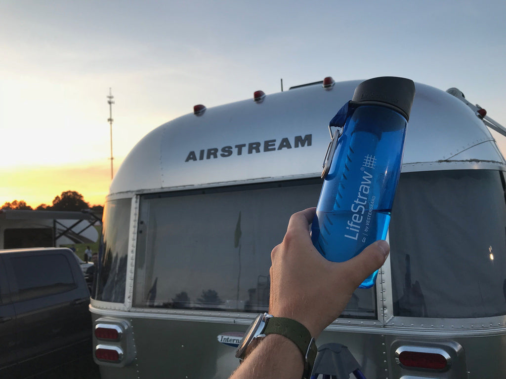 Clean Water Across America: A Partnership with LifeStraw and Airstream!