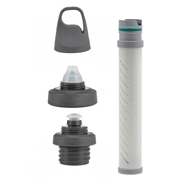 LifeStraw Universal Water Filter Bottle Adapter Kit Fits Select Bottles from Hydroflask, Camelbak, Klean Kanteen, Nalgene and More - LifeStraw - Online store