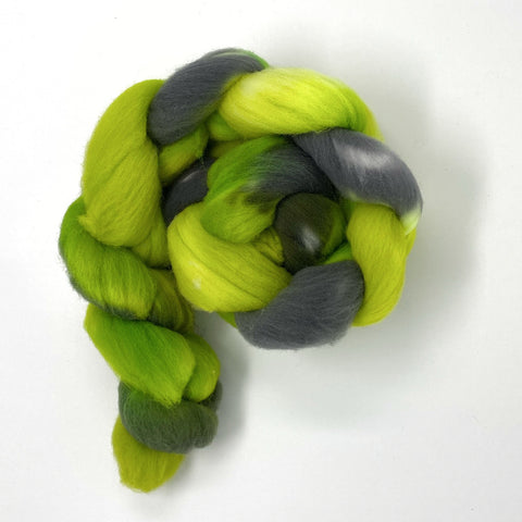 Ghoulish | Targhee Roving Combed Top