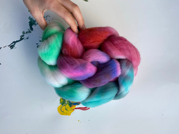 Five | Targhee Roving Combed Top