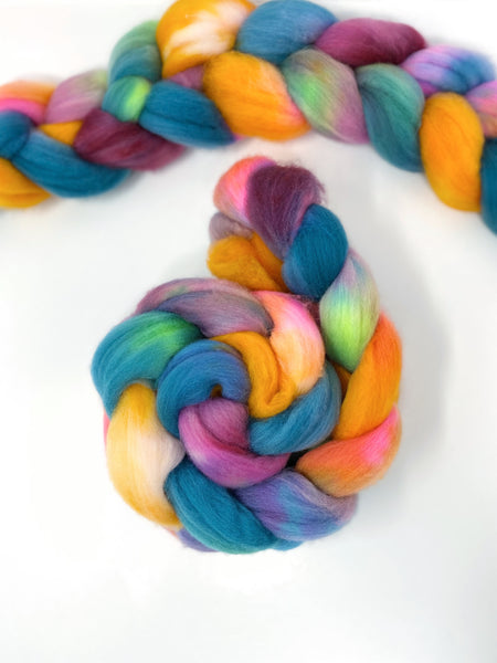 Beach Days | Polwarth Roving Combed Top