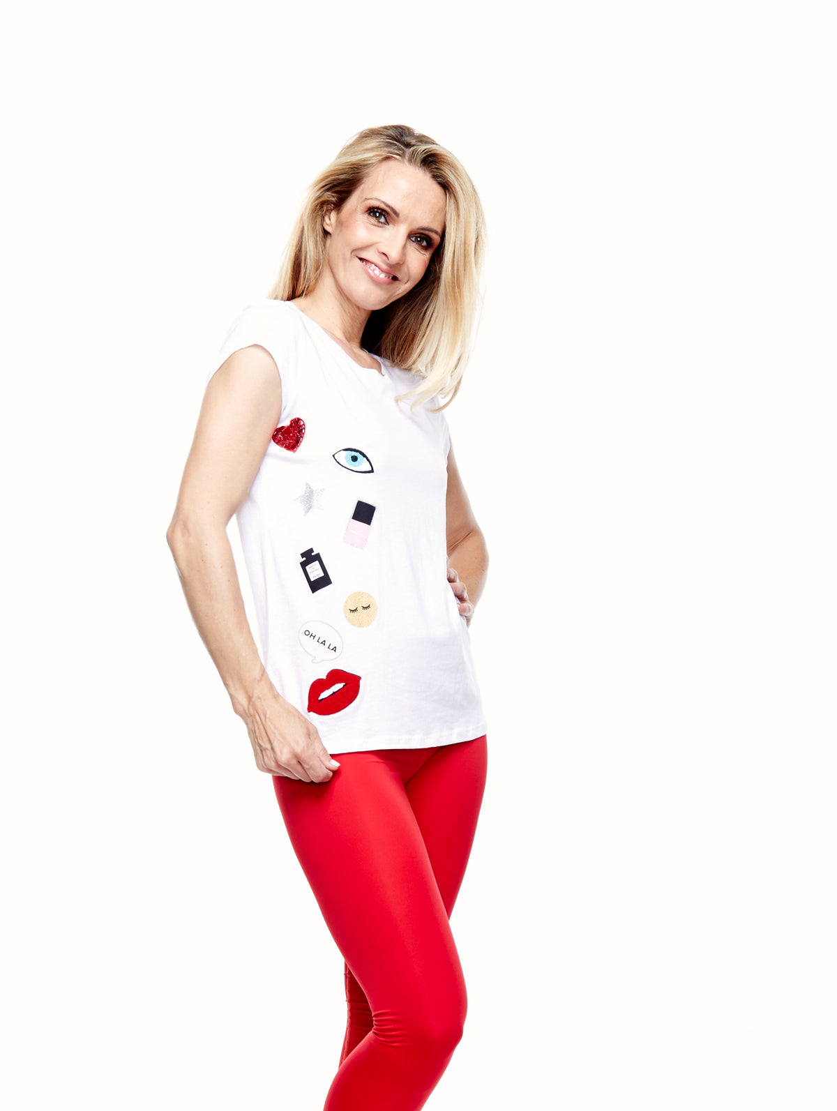 IPHORIA READY TO WEAR T-SHIRT ICONS - shop amla