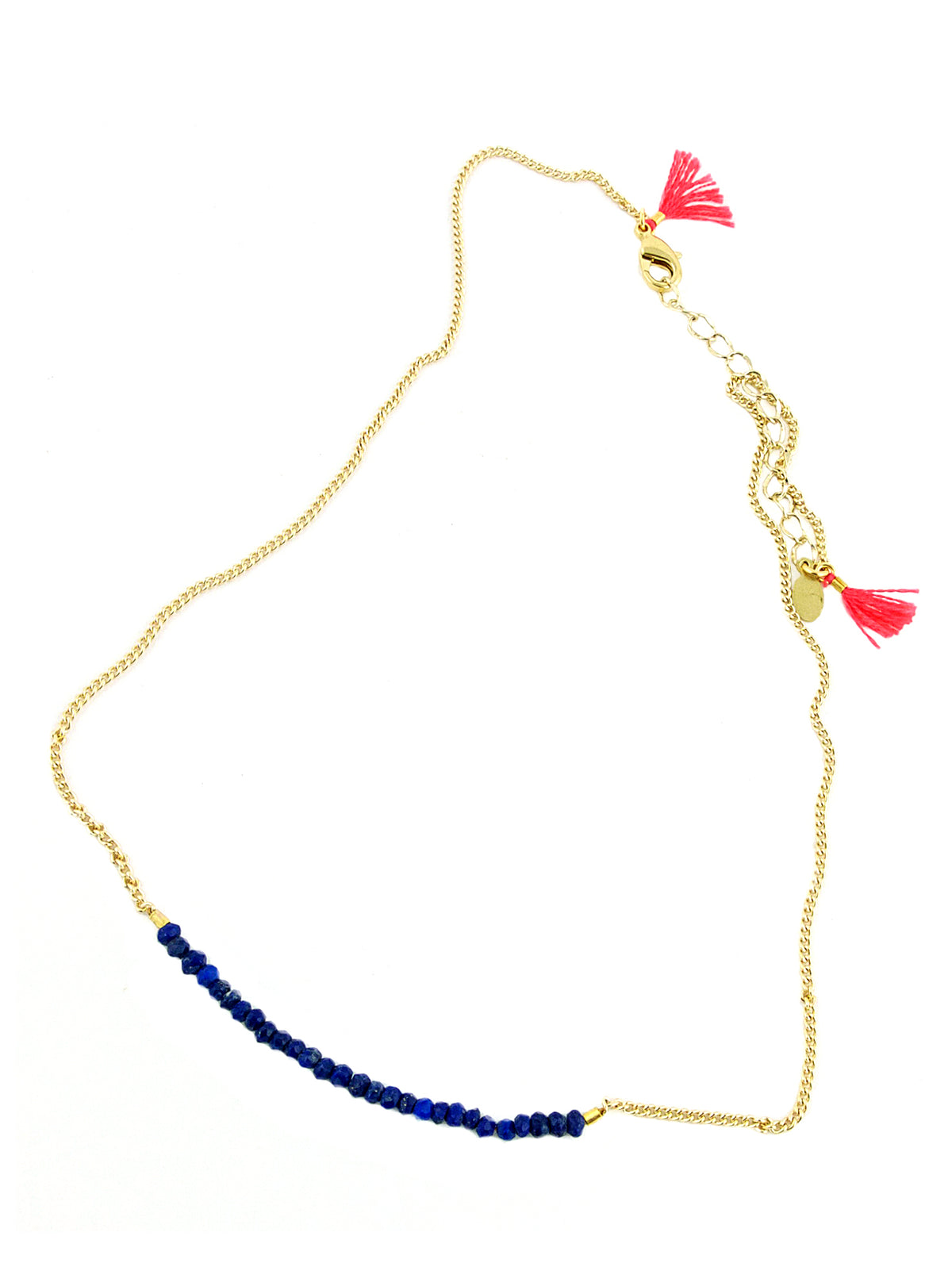 Shashi Cobalt Natasha Necklace