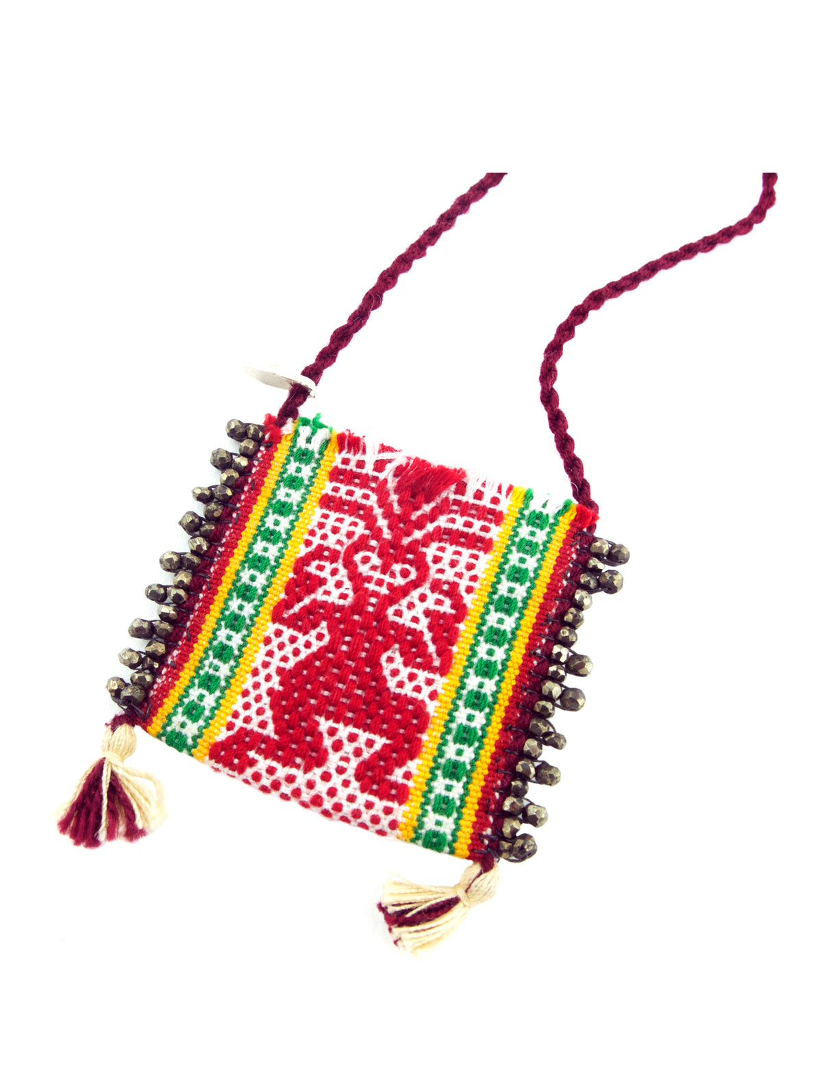 Oaxacan Pouch Necklace