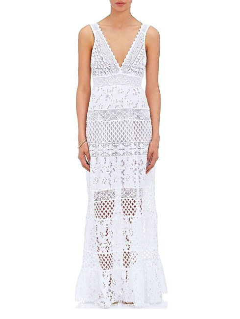 Temptation Positano White Paola Maxi Dress