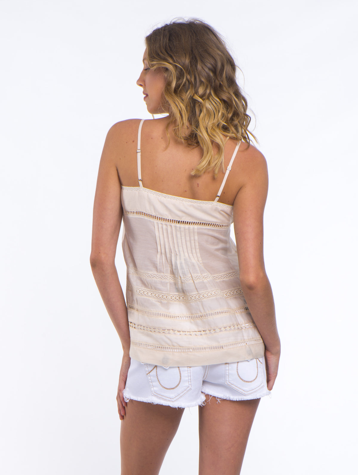 Summer Breeze Tank - French Vanilla