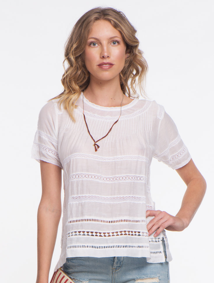 Summer Breeze Top - White