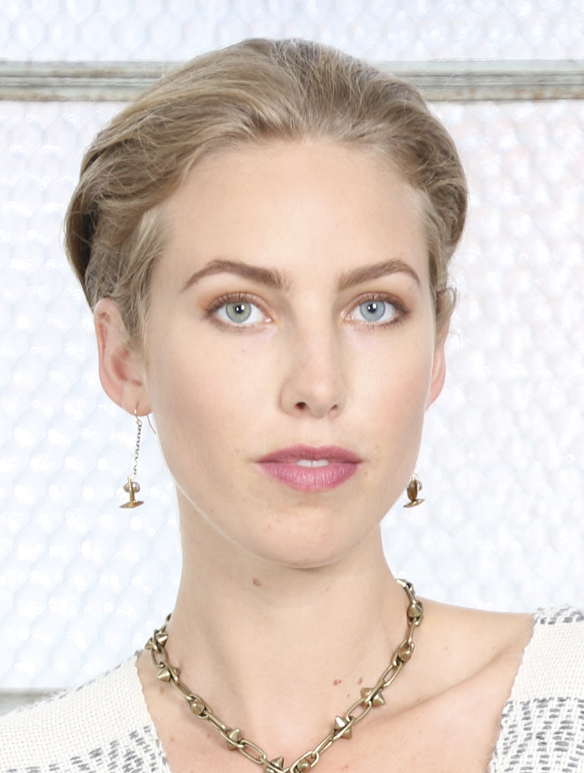 Pearl Totem Earrings-Heather Kahn
