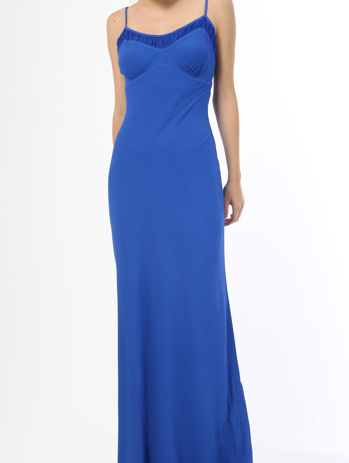 Leona Tank Maxi Dress - Cobalt Blue