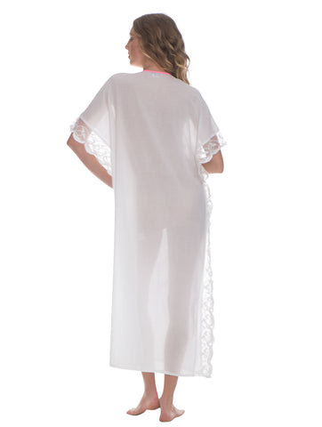 White Cover Up Dress