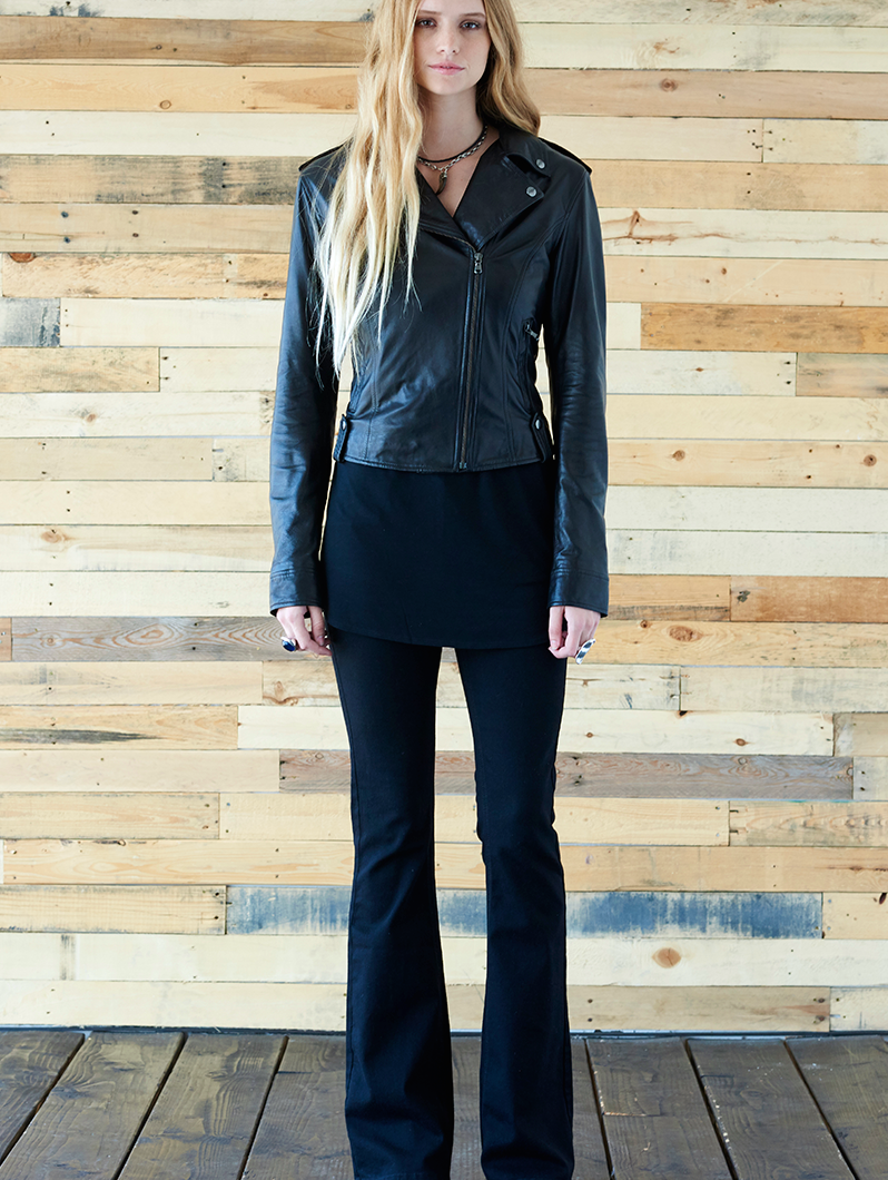 Prince Modern Black Butter Soft Biker Jacket