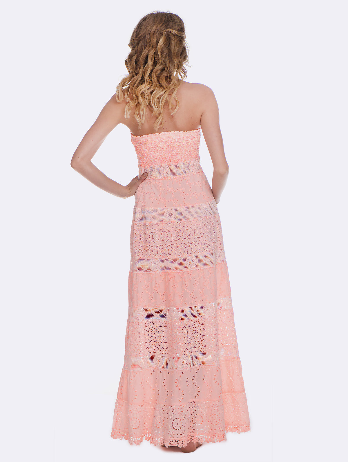 Temptation Positano Peach Dublino Dress