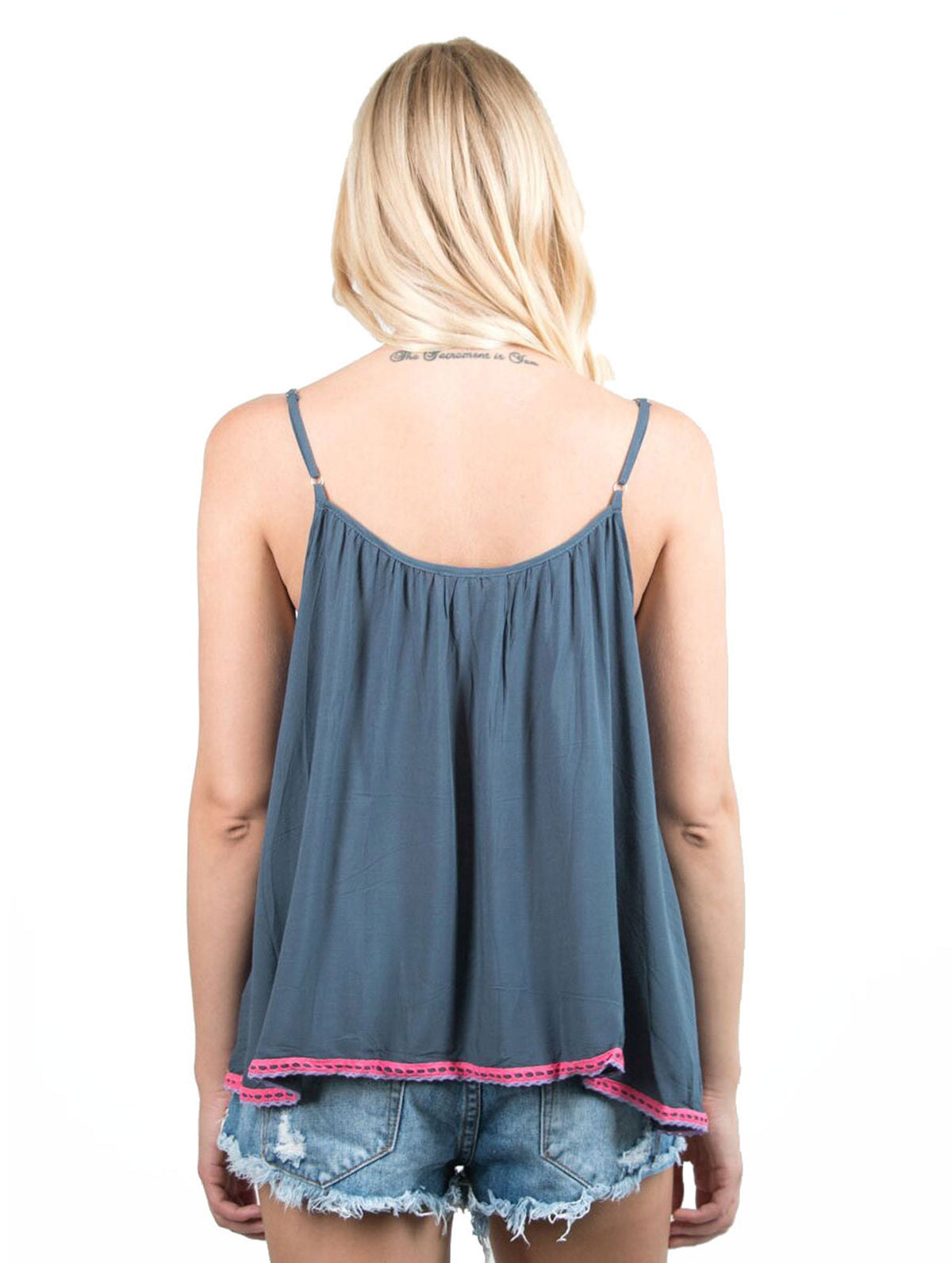 Vintage Havana - Cover Up Tassel Tank
