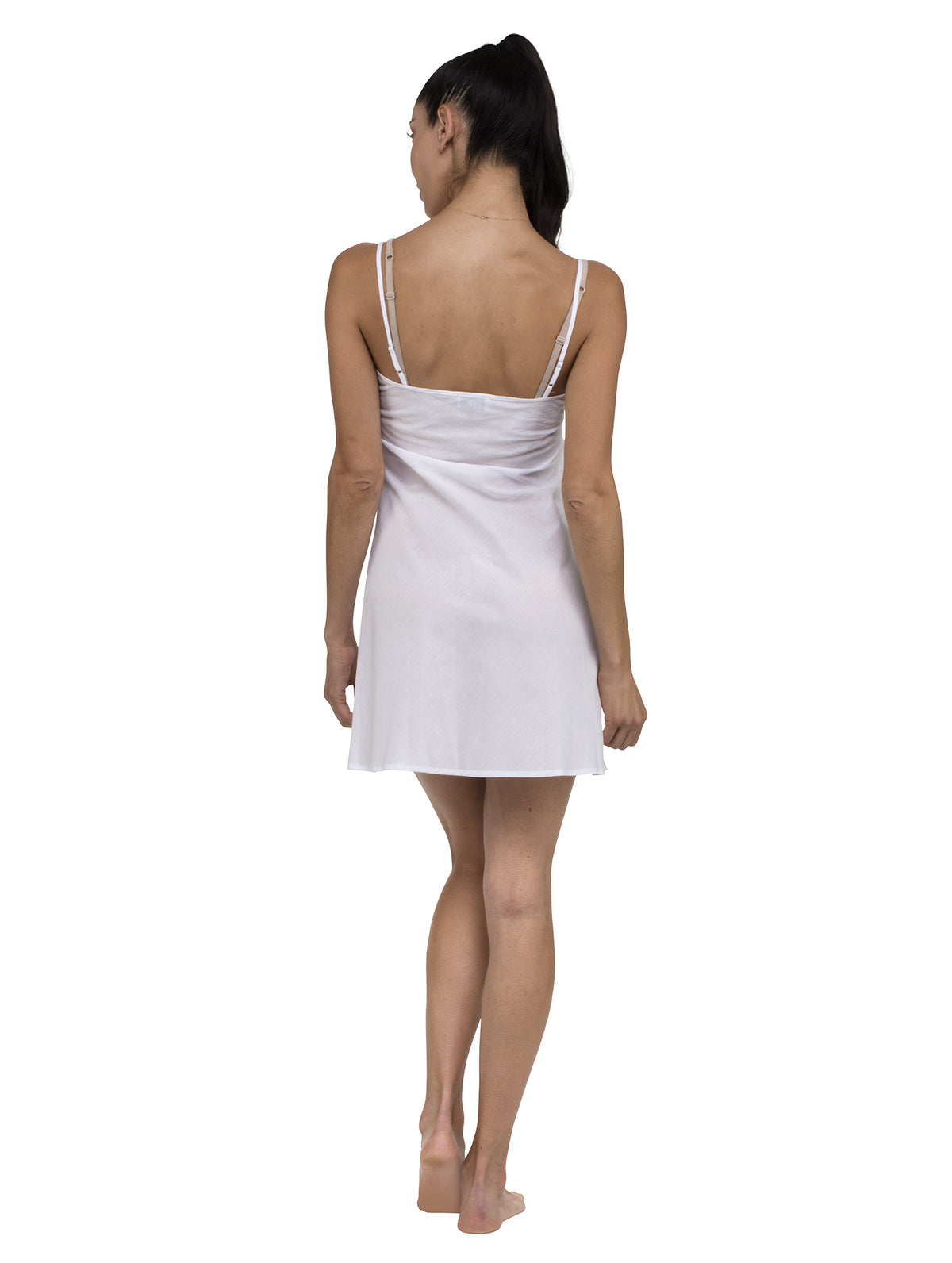 Slip Dress - White