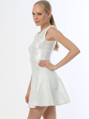 Bandage Dress - White