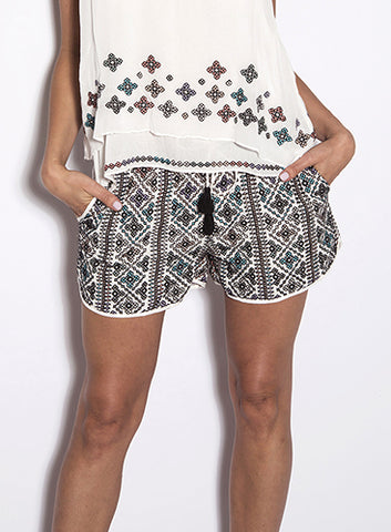 Love Sam Makayla Beaded Shorts
