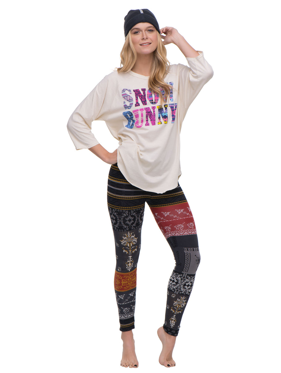 Snow Bunny Long Sleeve Tee JUNK FOOD